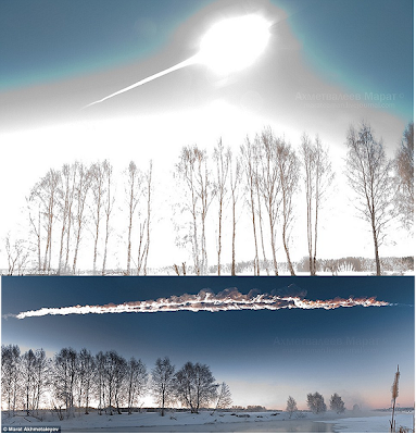 Spectacular Russian Meteorite Pictures!