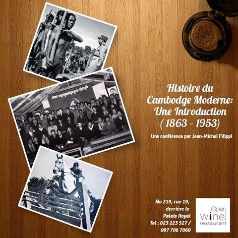 Annonce de l'Open Wine au sujet d'une conférence de la part de l'un des expatriés qui connait le Cambodge et l'Asie dans ses moindres détails, à ne pas manquer donc. Le communiqué: