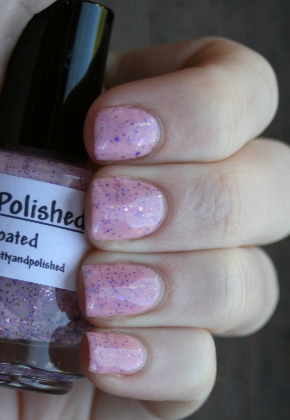Pretty and Polished Candy Coated swatch