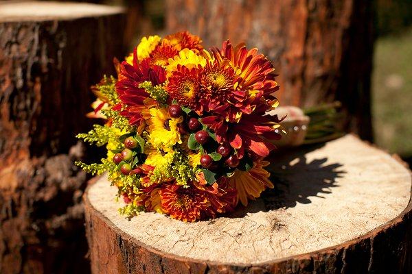 7 Kwiatów Jesienne Bukiety ślubne