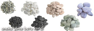 Jenis model batu koral untuk lantai