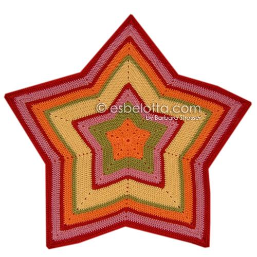 esbelotta: Starghan (Star Afghan)