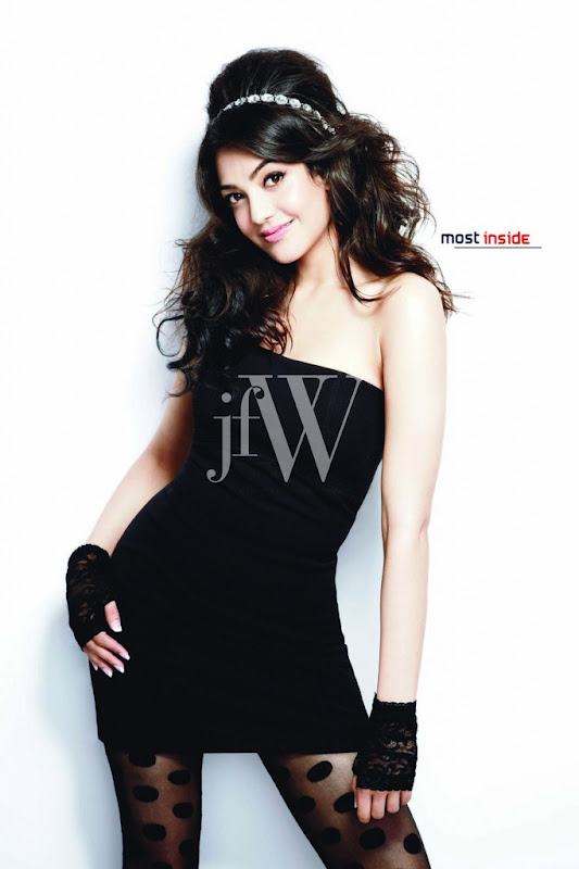 Kajal Agarwal New Photoshoot for JFW Magazine hot photos