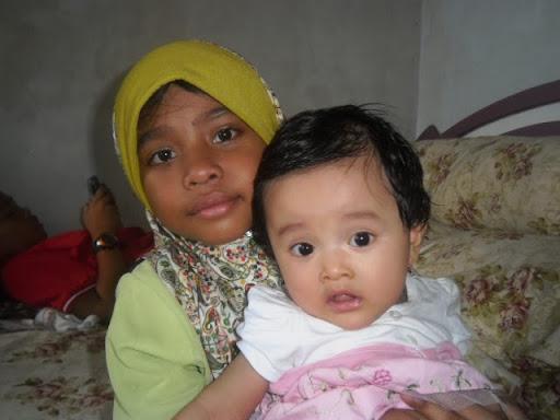Adik Annisa dengan kakak Aisyah