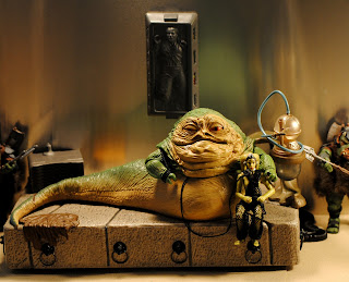 ACTION FIGURE EMPIRE: Jabba The Hutt and Oola: The Dance ... Jabba The Hutt And Oola