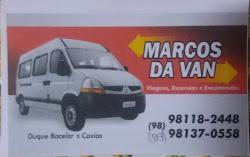 Viagens e Excursões - Fale com Marcos da Van