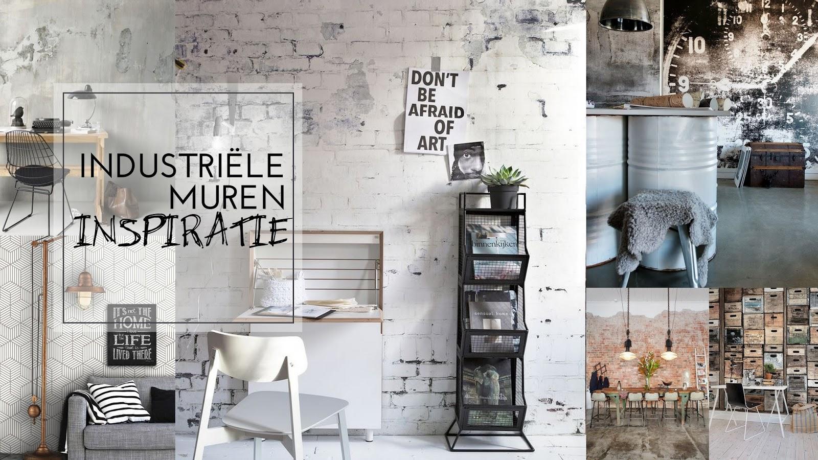 Industriële muren inspiratie - Judith Huls
