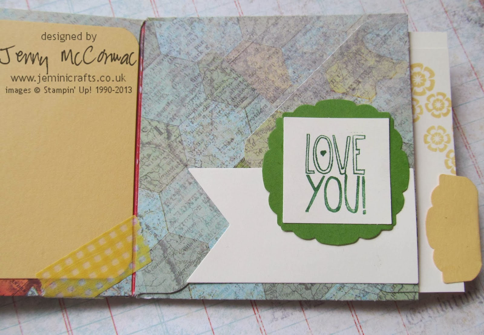 Stampin Up Envelope Punch Board Mini Albums Jemini Crafts