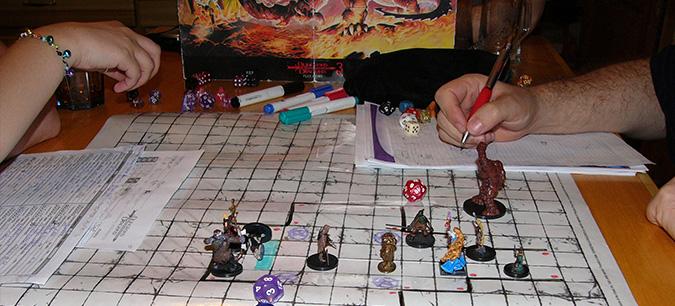 O que é RPG de papel