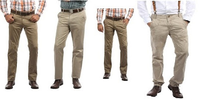 Upto 40% + Get Extra 20% Discount on Men's Casual Trousers @ HomeShop18