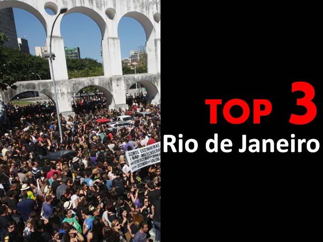 Top 3 - Rio de Janeiro