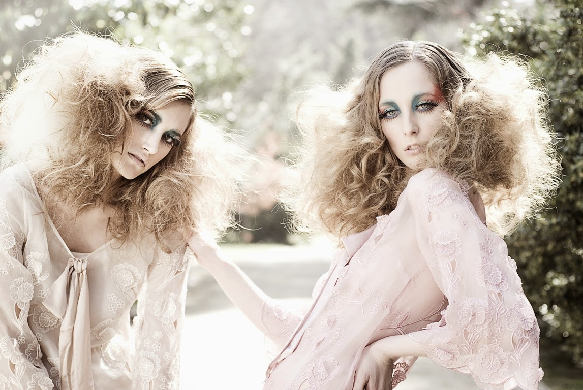 Alba Carrillo & Karina Pilon by Ale Megale & Celso Da Costa Hamelink for WOW Magazine Spring-Summer 2013 | Ses Rêveries