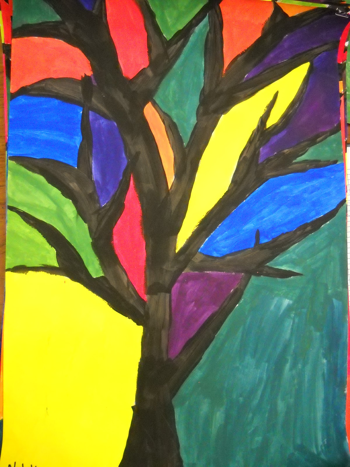 Teach Art And Create Color Theory Trees