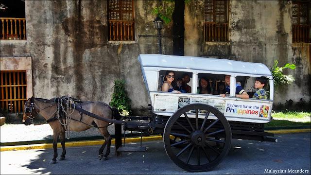 Calesa, Intramuros, Manila