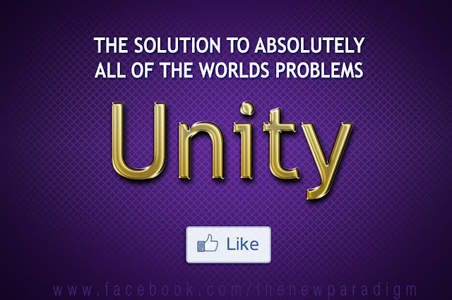 Unity is the solution to absolutely all of the worlds problems
