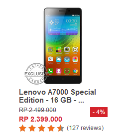 Lenovo A7000 Special Edition - 16GB
