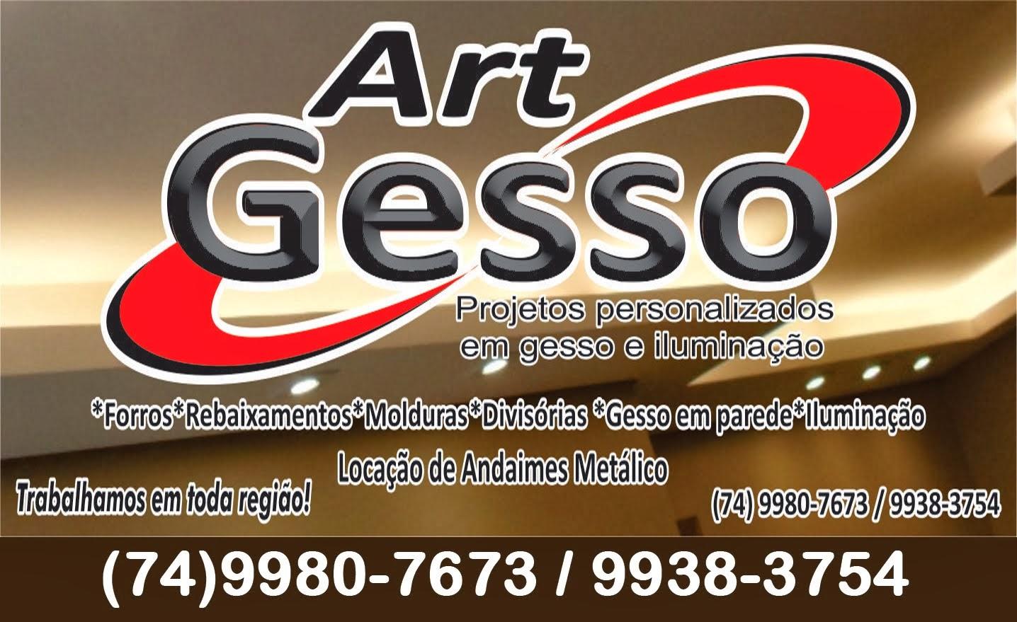 Art Gesso - 9980-7673 / 9938-3754