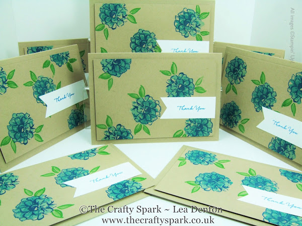 Sale-A-Bration What I Love Thank You Card Tutorial