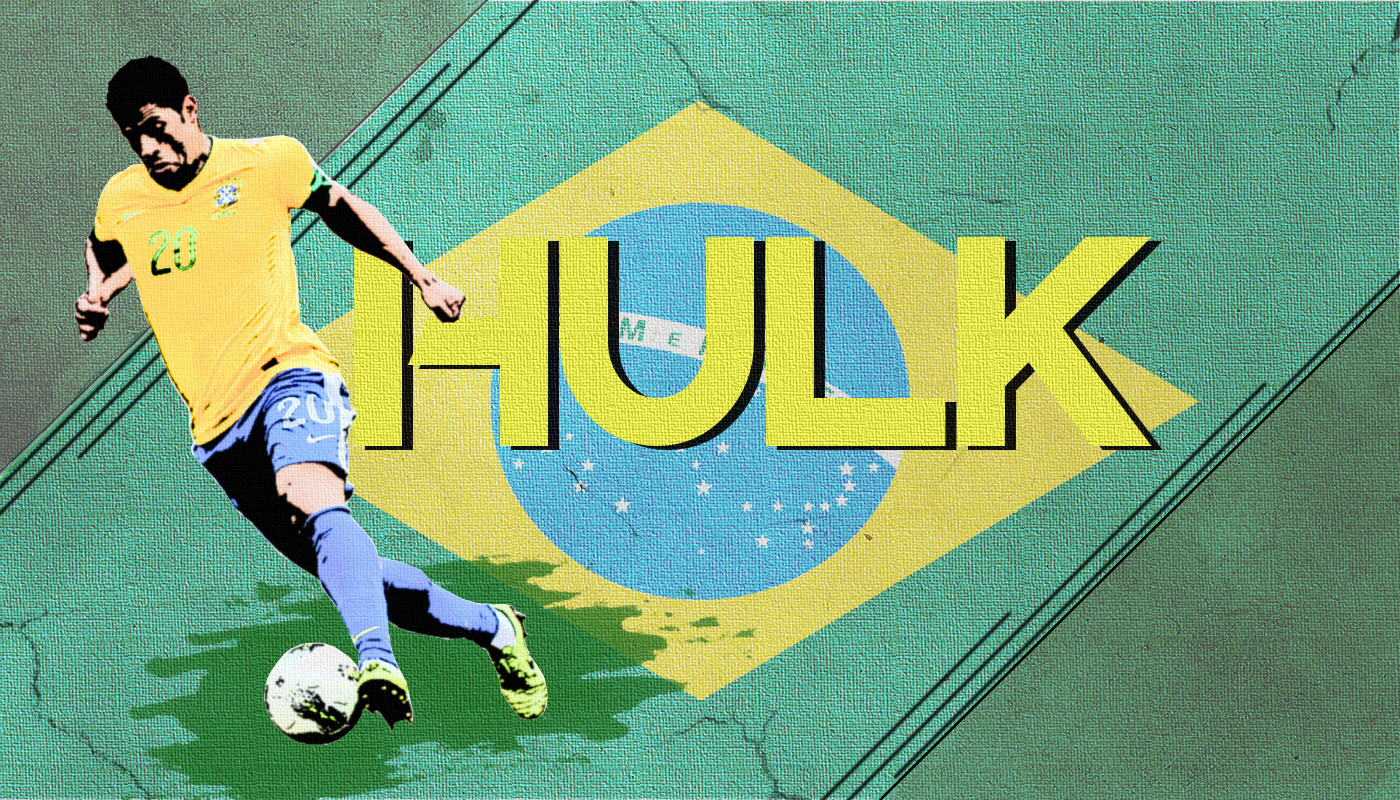 Hulk Brazil Striker Wallpaper  Take Wallpaper