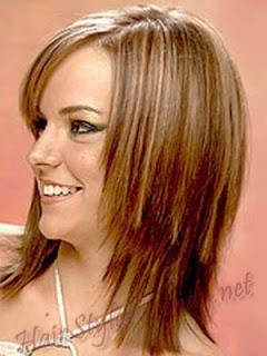 Women Hairstyles for medium length straight hair