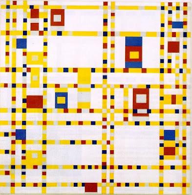 Broadway Boogie-Woogie de Piet Mondrian