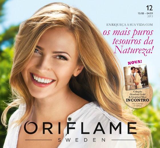 Catálogo 12 de 2013 da Oriflame
