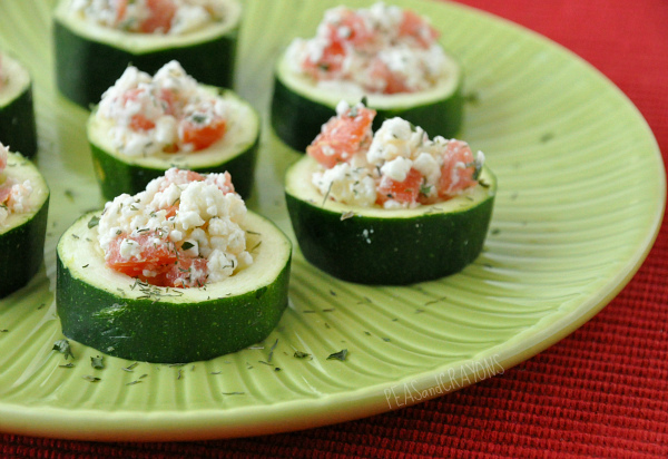 Baked Zucchini Appetizers