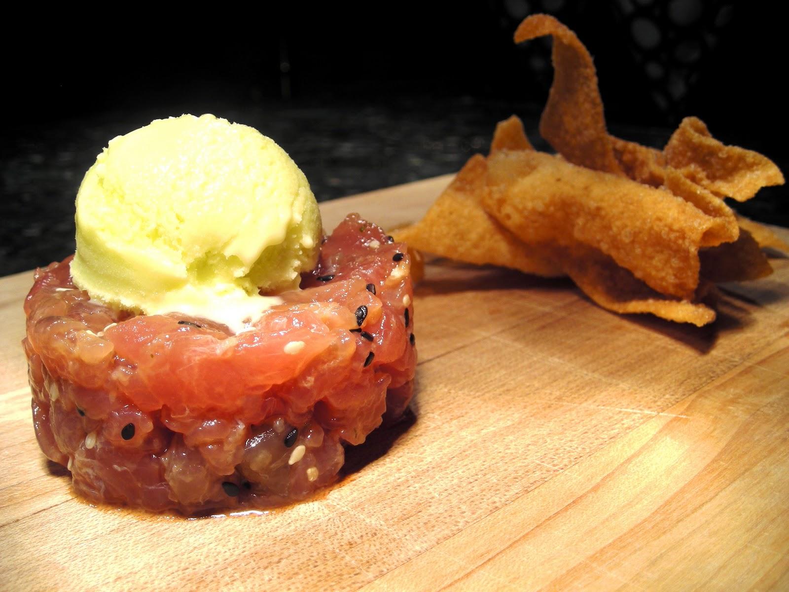 Tuna Tartare With Yuzu & Wasabi Recipes — Dishmaps