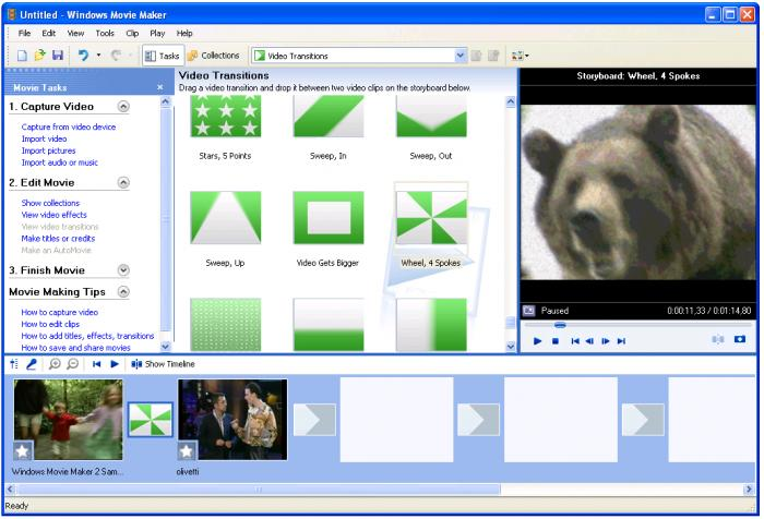 Windows Movie Maker 2.6 Бесплатно