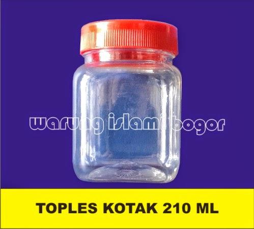 Jual Botol Plastik Kemasan Toples Jar Kotak 200ml