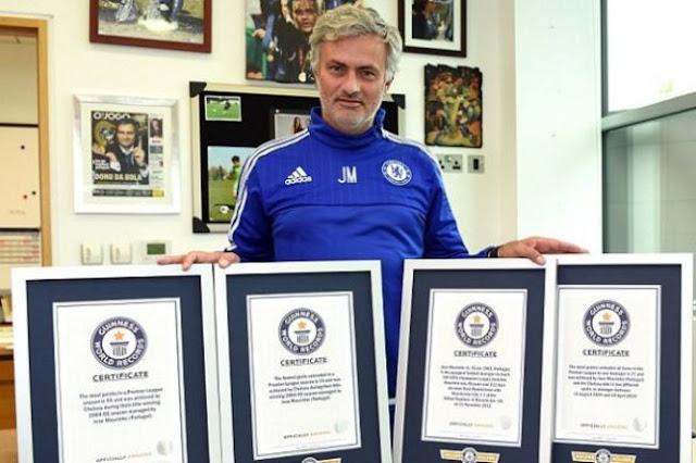 Mourinho dans le livre des records