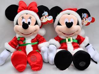 Gambar boneka Mickey dan Minnie Mouse berpasangan 1