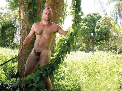nude men outdoors