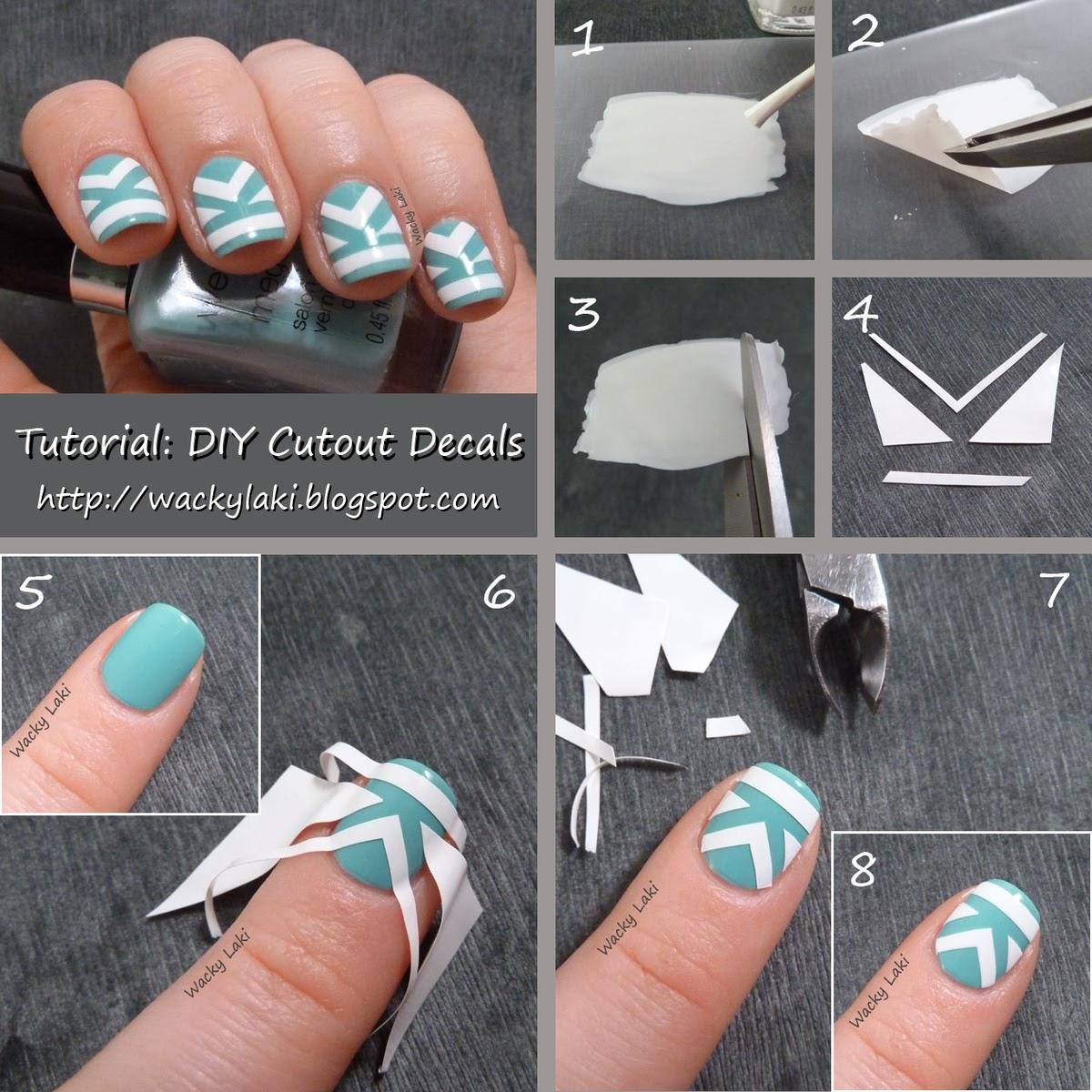 DIY hágalo usted misma ¡¡: Decoración de uñas casero.