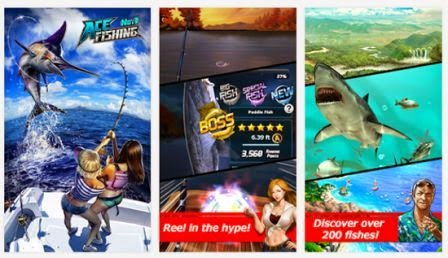 Ace Fishing: Wild Catch Apk Terbaru