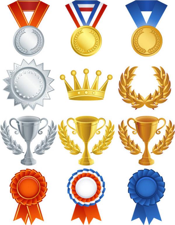 medallas y rangos