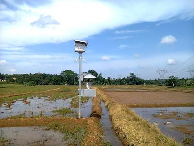 Lampu Perangkap(Light trap) di Desa Beji Kecamatan Tulis