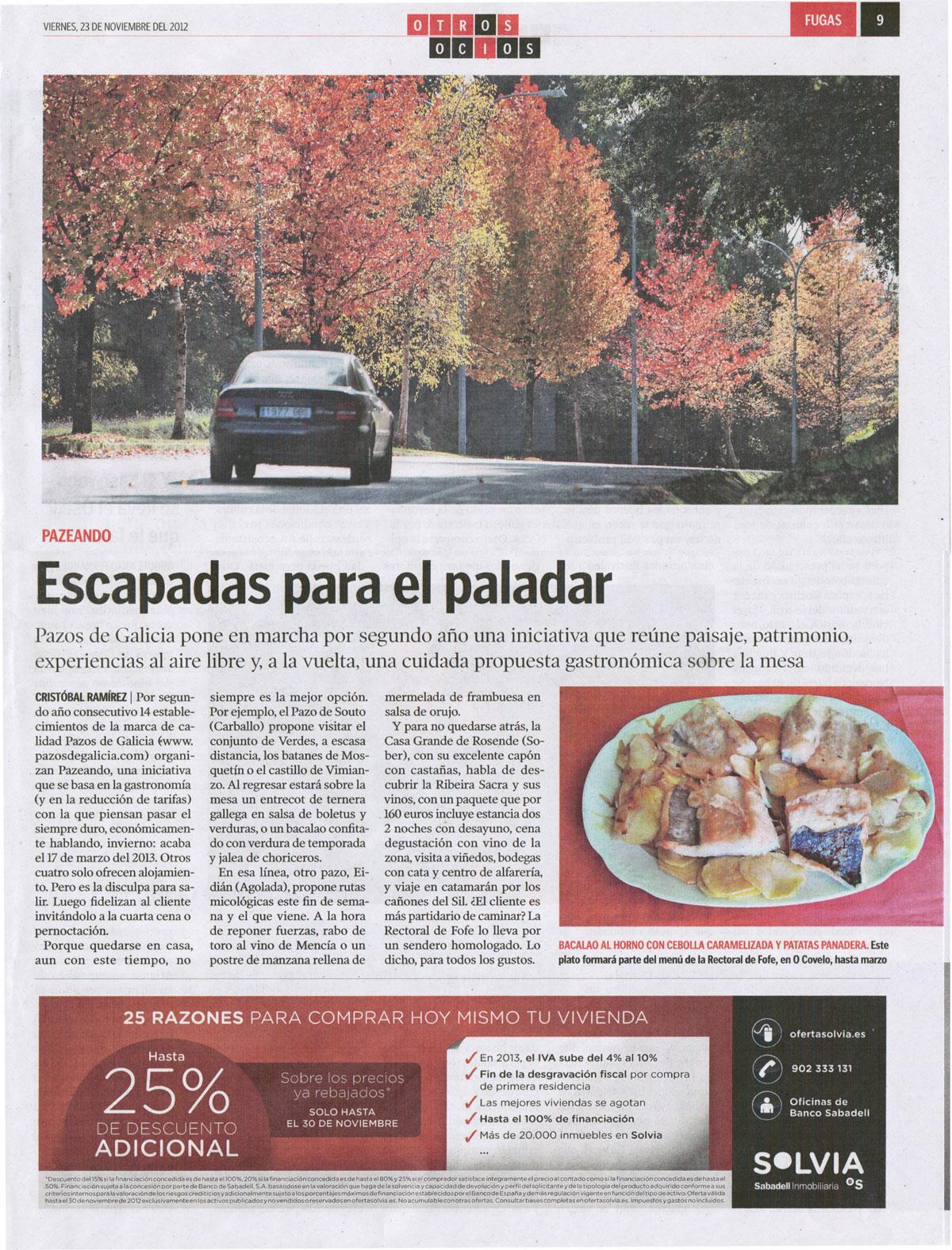 Casas completas galicia alquiler de vacaciones escapadas - Escapadas rurales galicia ...