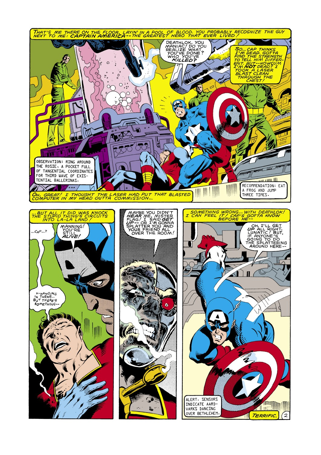 Captain America (1968) Issue #287 #203 - English 3