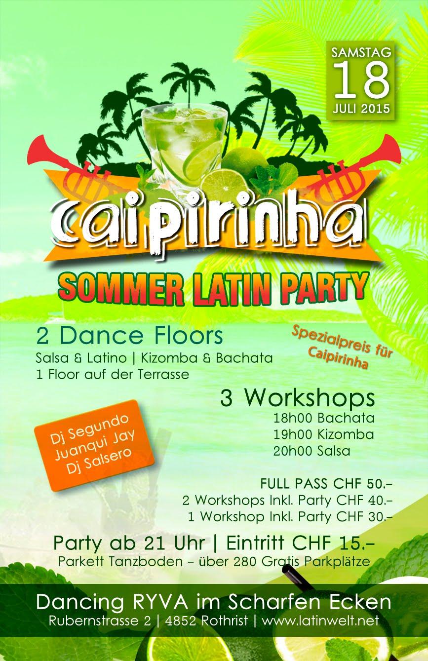CAIPIRINHA PARTY 18. JULI