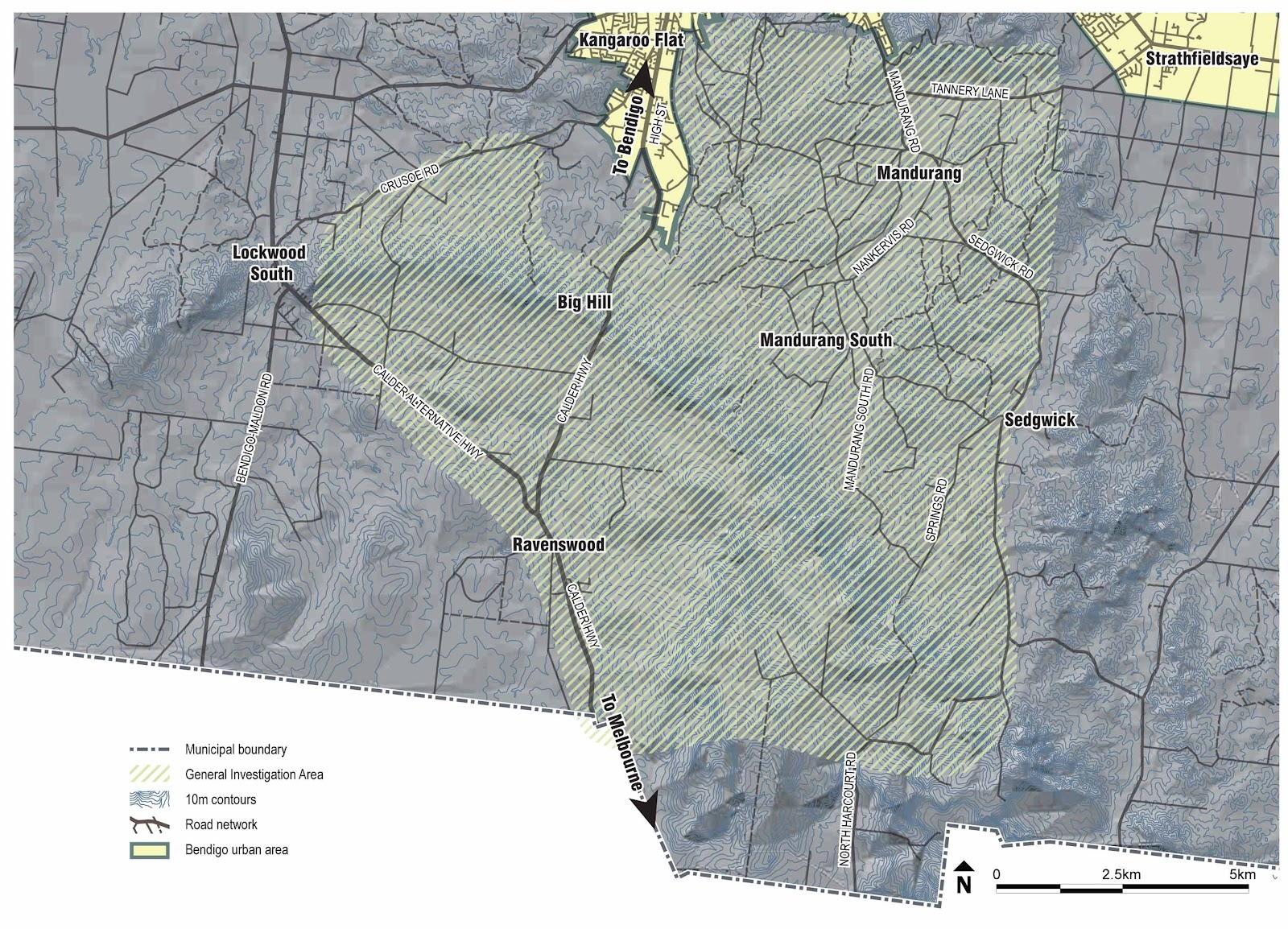 Greater Bendigo Big Hill Mandurang Landscape Assessment