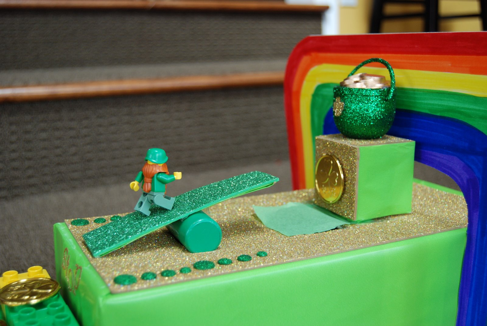 math worksheet : a blonde and 3 boys leprechaun trap : Simple Machine ...