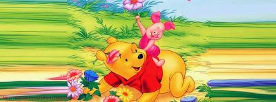 Image de couverture facebook winnie the pooh