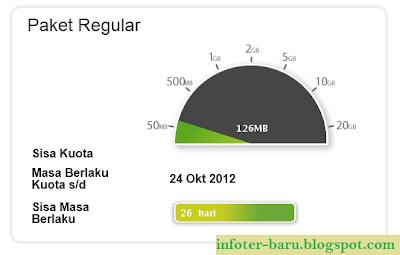 Cara Cek Kuota Internet 3 via web, via sms