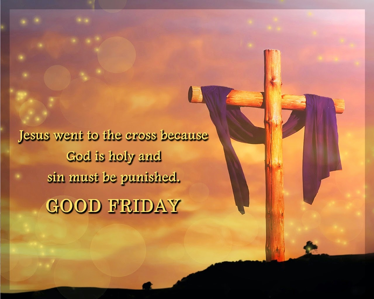 Good Friday Cross 2015