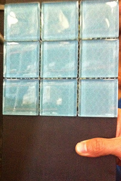 where to buy blue glass tiles in Sydney