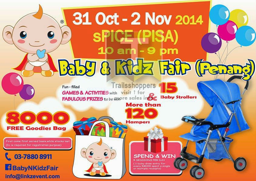 7th Baby & Kidz Fair at sPICE (PISA) Penang