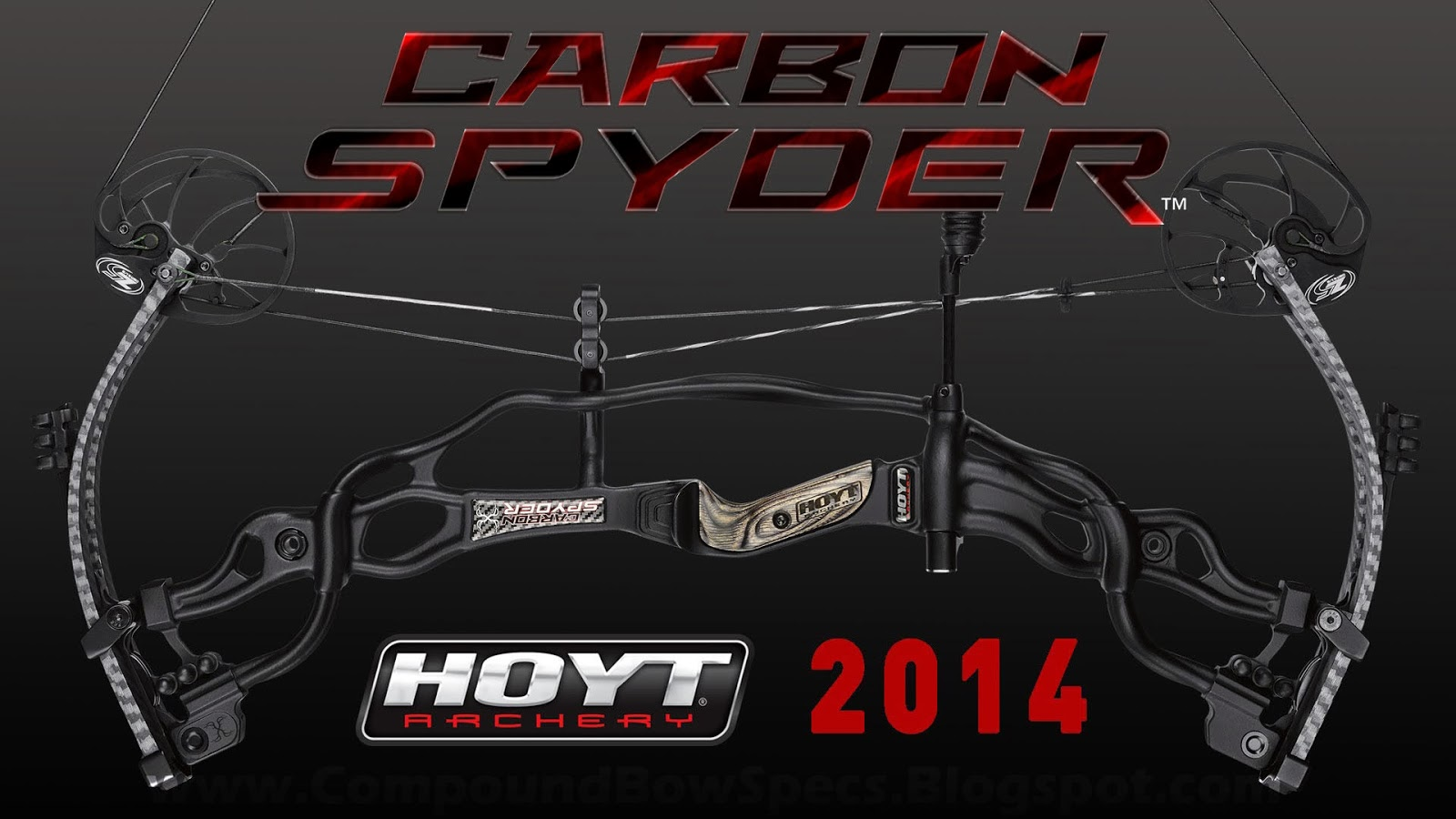 Hoyt Carbon Spyder 30 Black Edition Compound Bow Specs 332fps