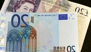 Equivalencia entre libras y euros