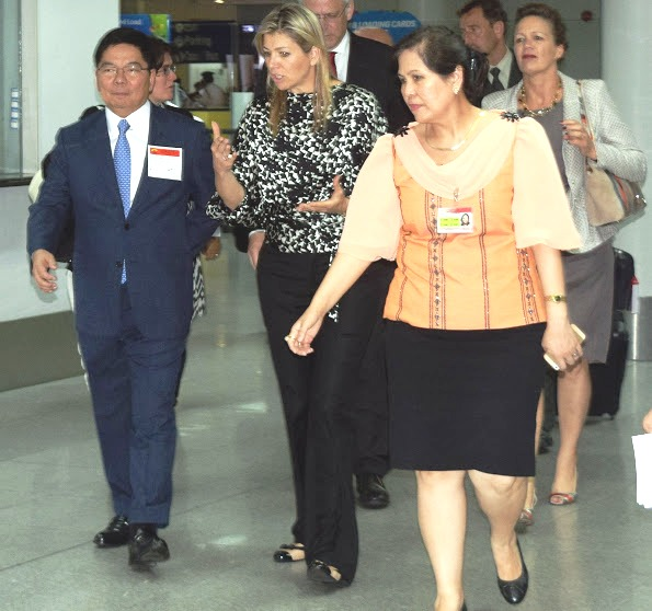 Queen Maxima On The Start Of Her Visit To The Philippines